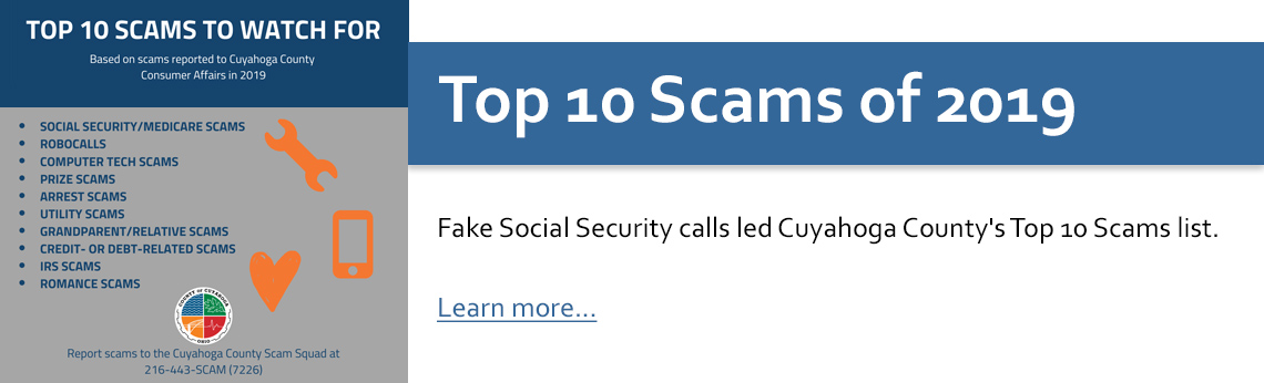 list of top scams