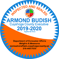 Inspected and Sealed - Armond Budish, CUyahoga County Executive 2019-2020